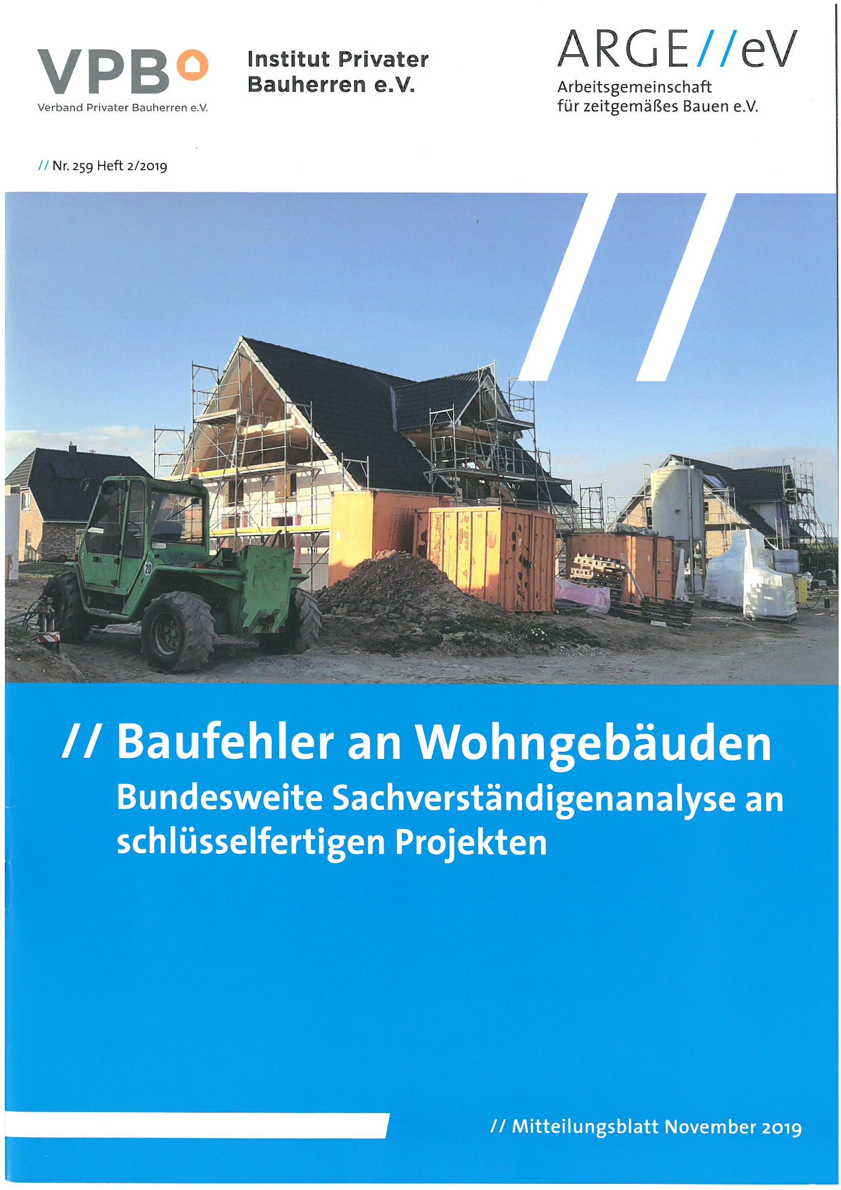 Baufehler an Wohngebäuden