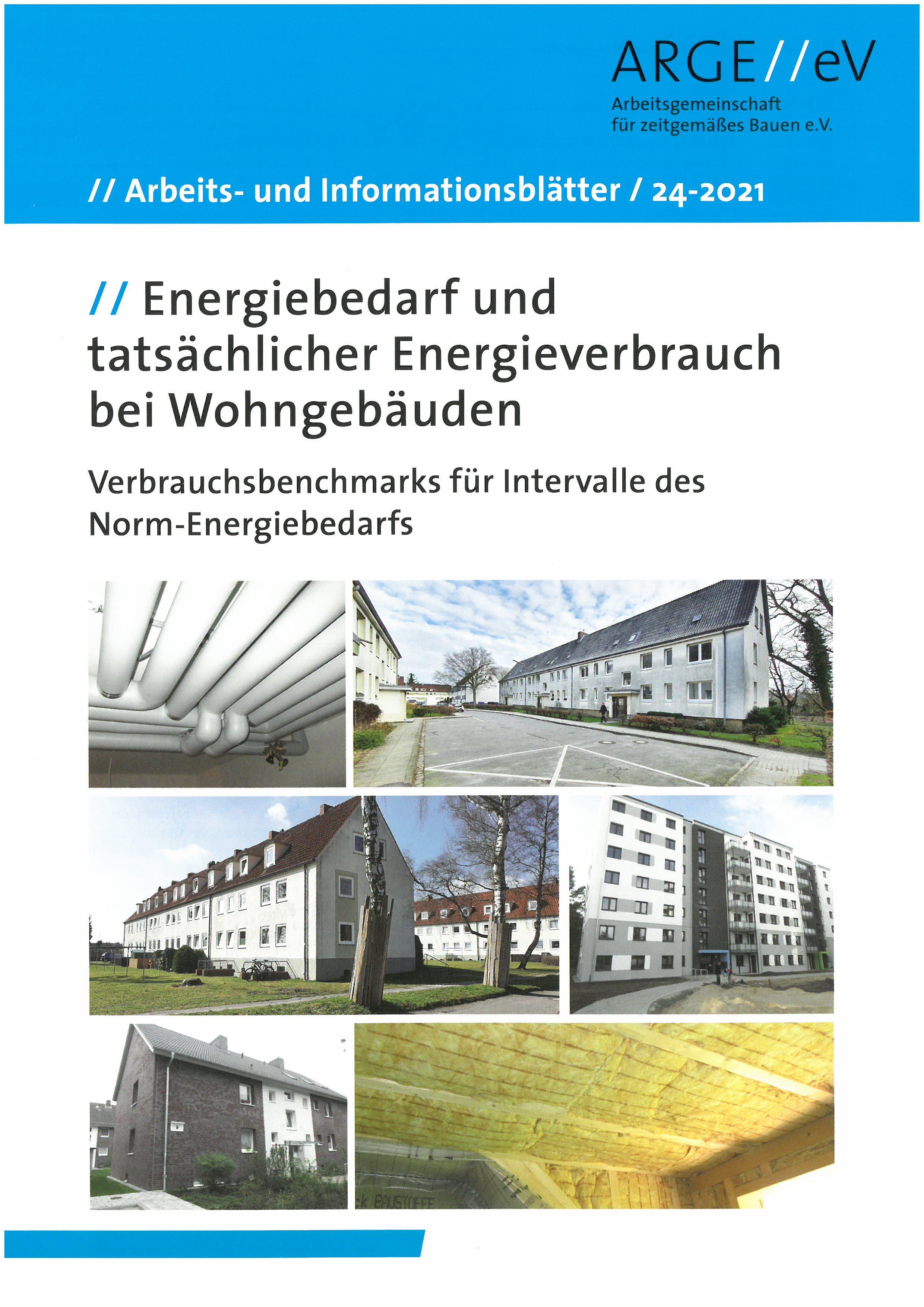 Energiebedarf und tatsächlicher Energieverbrauch bei Wohngebäuden