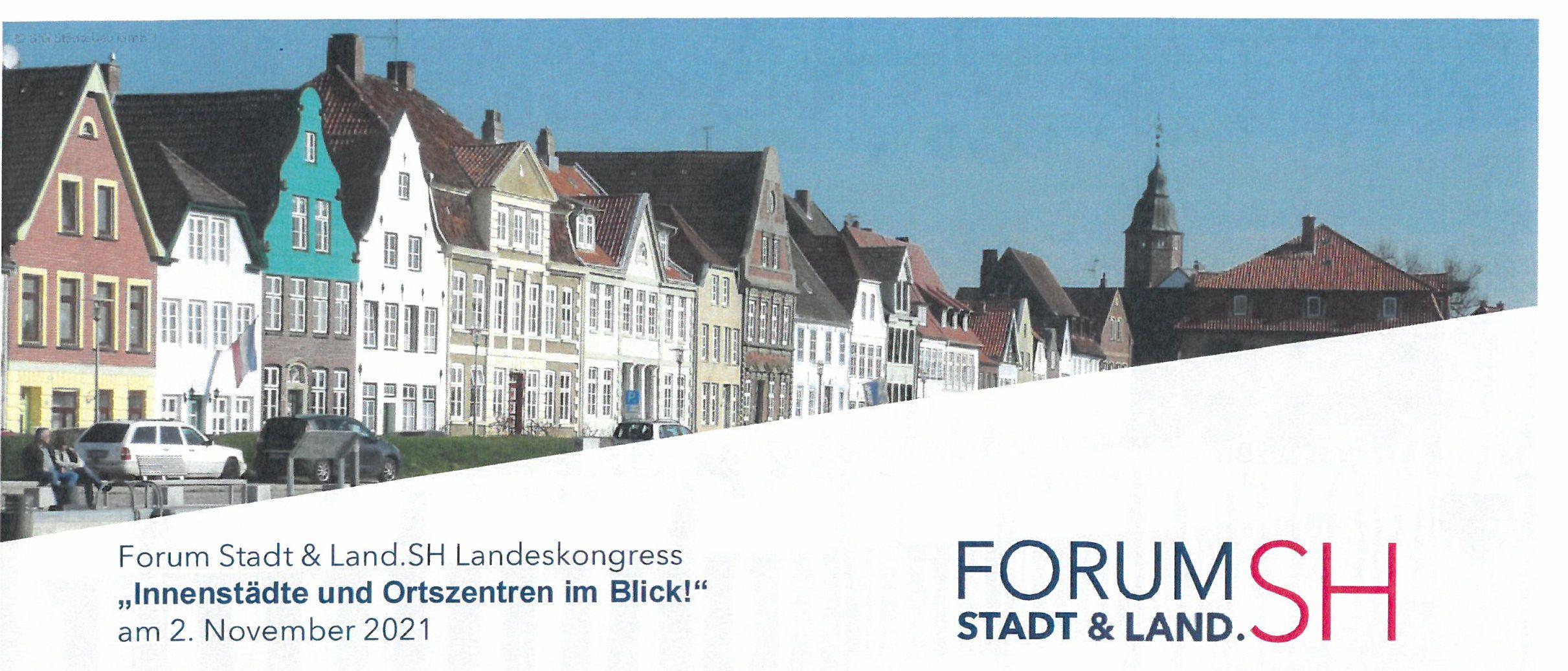 """Landeskongress """"Innenstädte und Ortszentren im Blick!"""""""